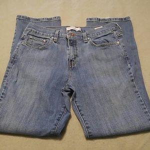 Levi's medium wash straight leg 505 jeans size 10S